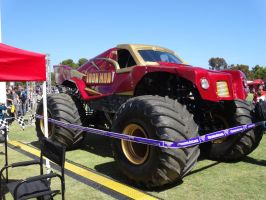 Monster Jam Adelaide 2014: Iron Man 03 by lizardman22