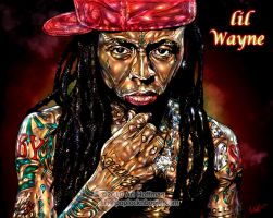 lil Wayne... Art Work by arihoff