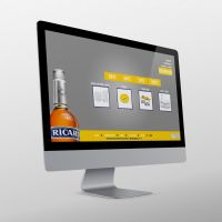 Ricard eshop design study [gifts page] by luisfccorreia