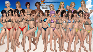 Mills Mess Swimsuits for XNALara/XPS by XNALara-Fanatic