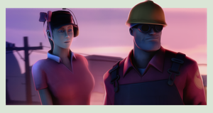 Engineer-Femscout by Breadblack