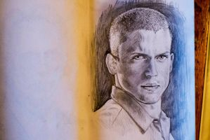 Wentworth Miller by kichinez