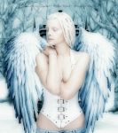 Winter Angel by Emerald City Digital by Emerald-City-Digital