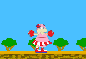 Fruity the Seedrian Cheerleader by Bowser14456
