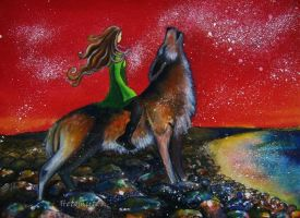 Women who run with the Wolves by Helena-Spiritwalker