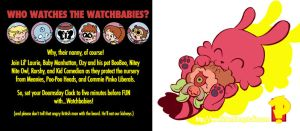 Watchbabies Back Cover by kevinbolk