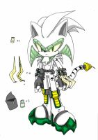 Venonymus The Hedgehog by Fly-Sky-High
