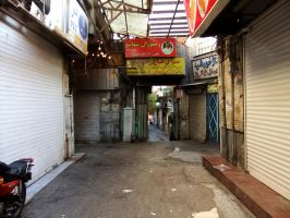 Back Alley, Tehran by fuguestock
