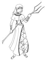 Crosshatched Costume by topace12