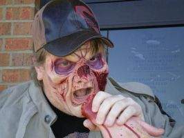 Zombie Eats Hand by Bracey-Stock