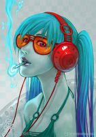 Inhale the Music by Qinni