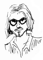 Johnny Depp quick sketch by xAndyLG