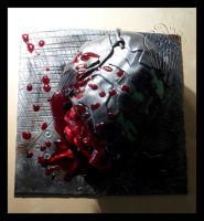 Game Over - Dead Space Fanart Cake by CakeUpStudio