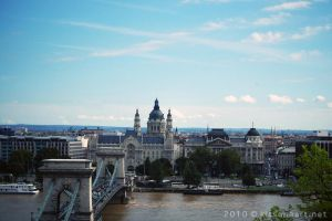 budapest from Royal Palace by BelialMadHatter
