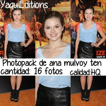 photopack de ana mulvoy ten by YaquiEditions