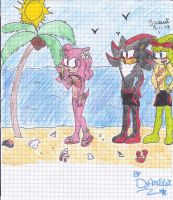 ShadowXAmuXScourge Summer Paradise by DjAmuStar