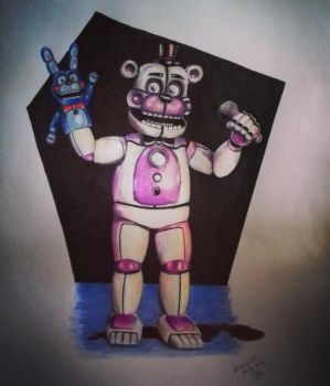 [FNAF] Sister location Funtime Freddy by JosefaValdiviaT-Rex