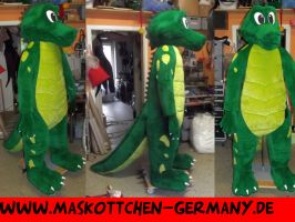 Gator Mascot Costume by AtalontheDeer