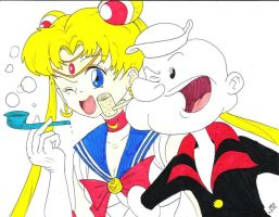 The Sailor Man Meets Sailor Moon by tr3forever