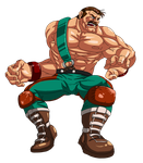 Mike Haggar. by Ninja-Master-Tommy
