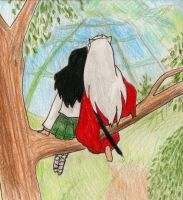 Inuyasha And Kagome Forever by LaceLilyMay