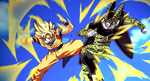 Goku vs Cell Color Restored- by DBHeroes