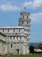 The Leaning Tower of Pisa no.1 by Silthria
