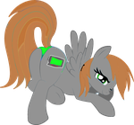 Littlepip r34 pose by CollinWing