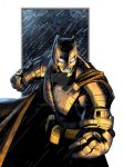 Armour Batman 2016 by RadPencils