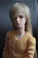 Yellow Pullover by Ariel-Sun