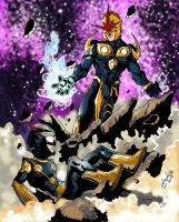 The Real Nova Returns Colors by Onore-Otaku