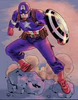 WWII Captain America by Nimprod