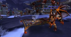 Warcraft: Magic Carpet Ride by ToxicCreed