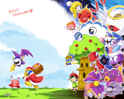 kirby's dreamland by shunao