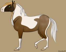 Me as a horse by moonofheaven1
