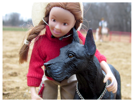 Breyer - Meg And Diesel by The-Toy-Chest