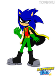 Sonic as Robin by Sapphire1X7