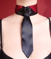 Tie collar by Pinkabsinthe