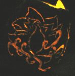 Lit Up on Halloween Tattoo 1 by ShadedRain