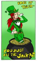 HAGD St. Patricks Day Pinup by TheMonkeyYOUWant