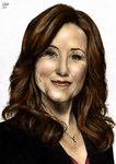 President Roslin - Colour by The-13th-Doctor