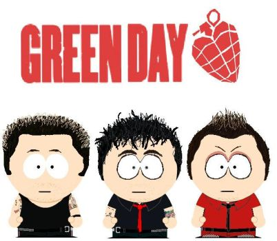 South Park Greenday by lord-nightbreed