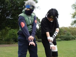Sasuke - Learning Chidori by KellyJane
