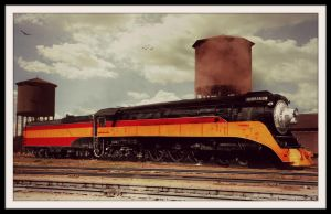 Southern Pacific Daylight #4449 by RMS-OLYMPIC