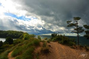 Dark Clouds over Lake Michigan by WolverineAC