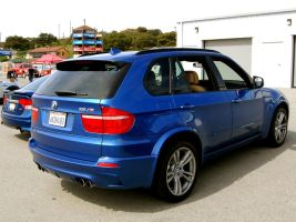 hot rod SUV BMW X5 M by Partywave