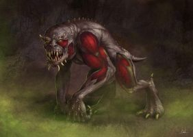 Death Beast by jasonjuta