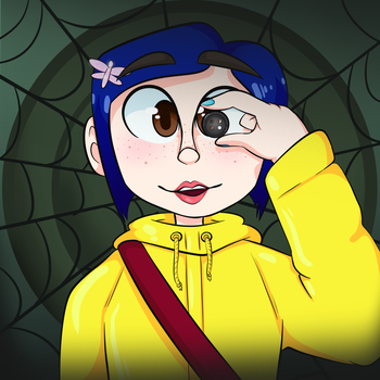 Coraline by Bea-MAI