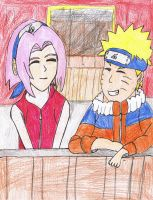 Narusaku- A moment of peace by Sanin2