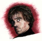 Peter Dinklage as Tyrion Lannister by K1D6R4Y
